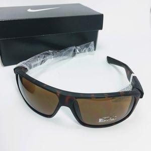 Nike Men's Premier 8.0 Tortoise Brown Sunglasses